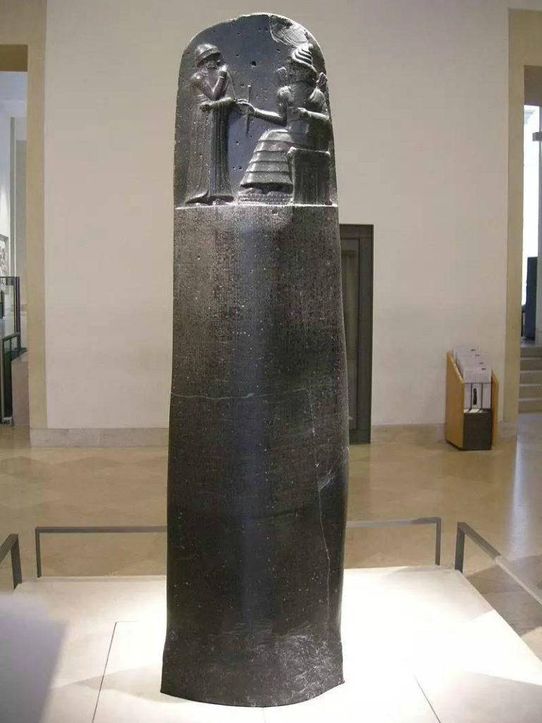 Стела со сводом законов Хаммурапи. 1755–1752 гг. до н. э.