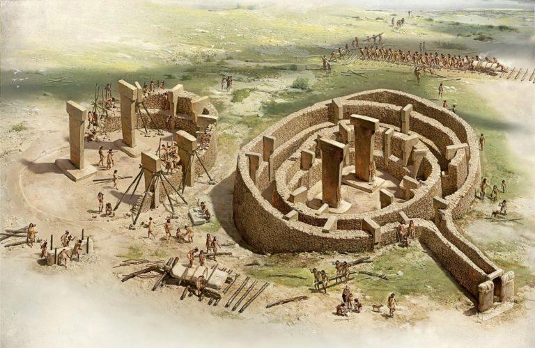 Строительство Гебекли-Тепе