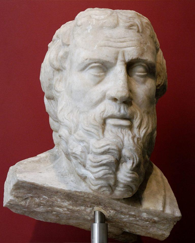 Воображаемый портрет Геродота. IV в. до н.э.