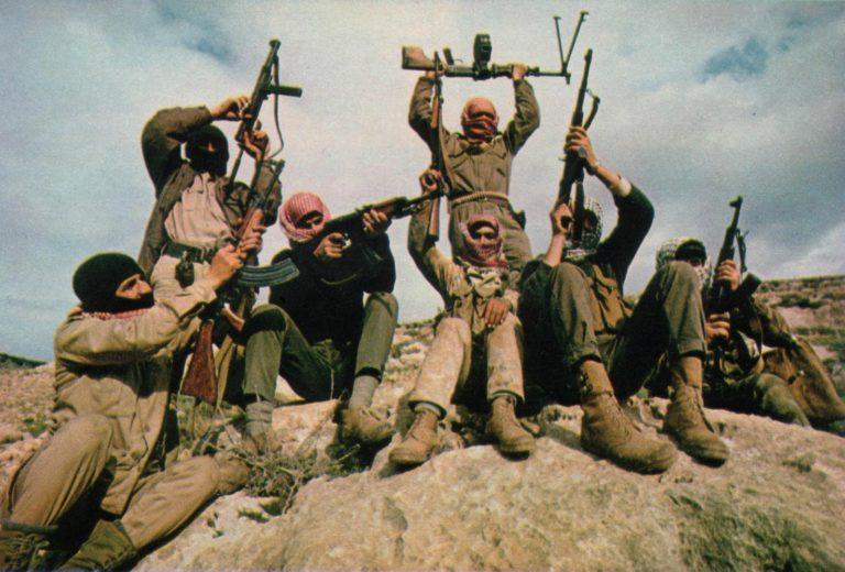 Вооружённая группа Народного фронта освобождения Палестины в Иордании. 1969