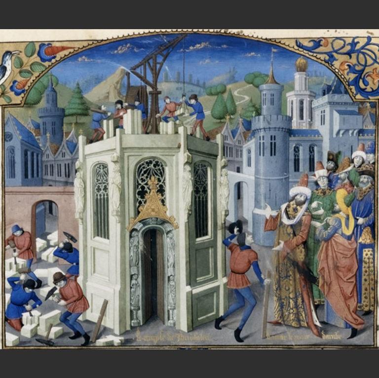 Восстановление Иерусалимского храма халифом Умаром (Омаром). XV в.