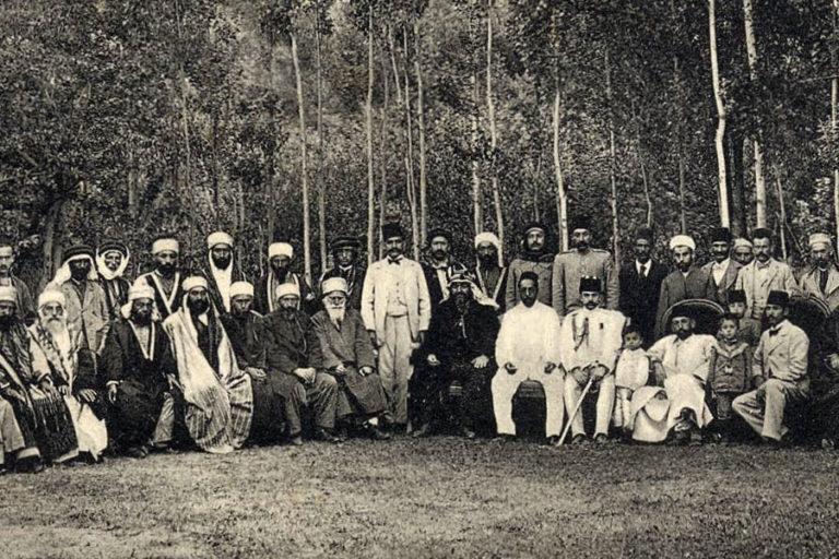 Встреча друзов и оттоманских лидеров в Дамаске. Дамаск, нач. XX в.
