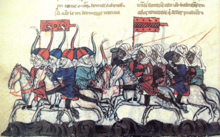 Вторая битва при Хомсе между монголами и мамлюками. Нач. XIV в.