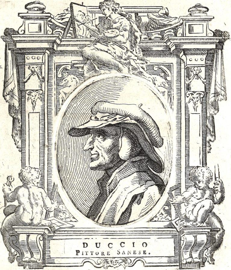 Вымышленный портрет Дуччо ди Буонинсенья. 1767