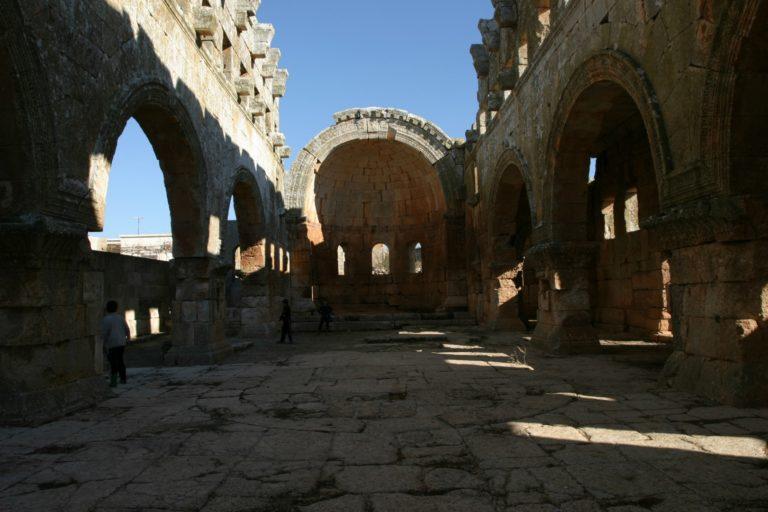 Базилика в Кальб-Лузе. V в. Сирия