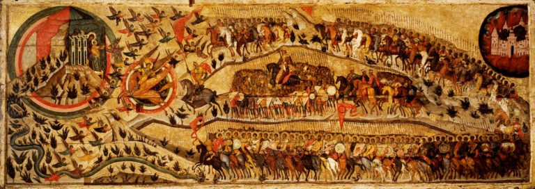 Благословенно воинство Небесного царя. 1550-е