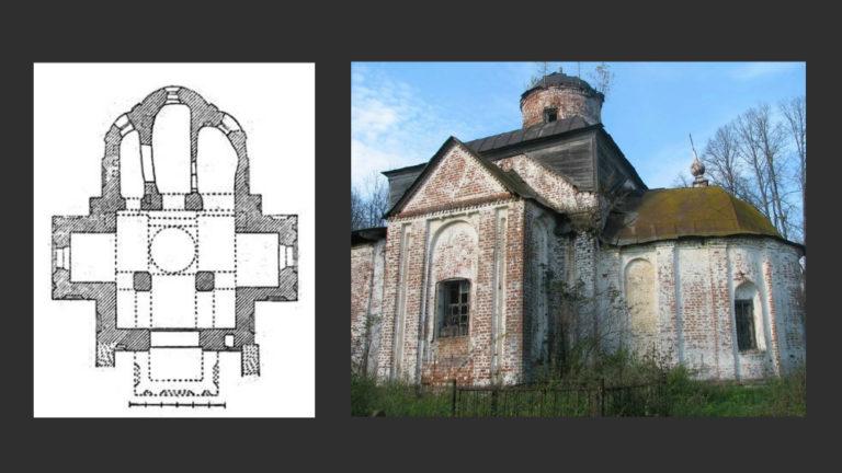 Благовещенская церквовь. 1530-е