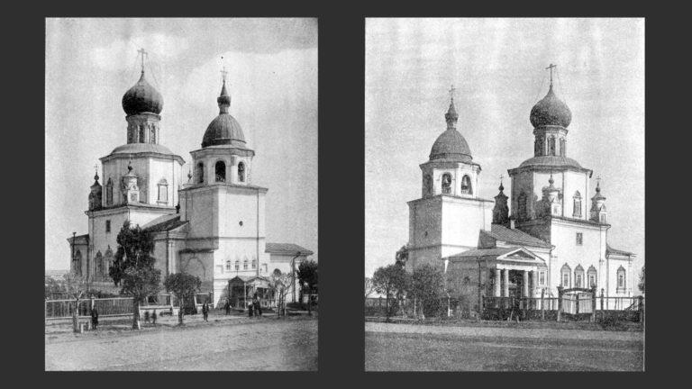 Благовещенский собор (не сохранился). 1700–1704