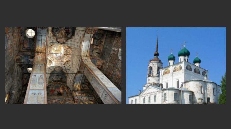 Благовещенский собор внутри и снаружи. 1560–1584