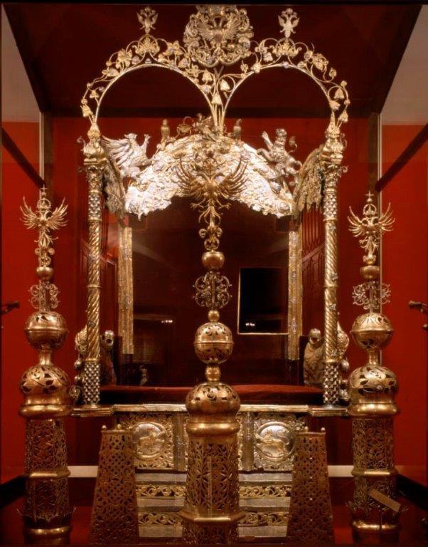 Двойной трон царей Ивана Алексеевича и Петра Алексеевича. 1682–1684