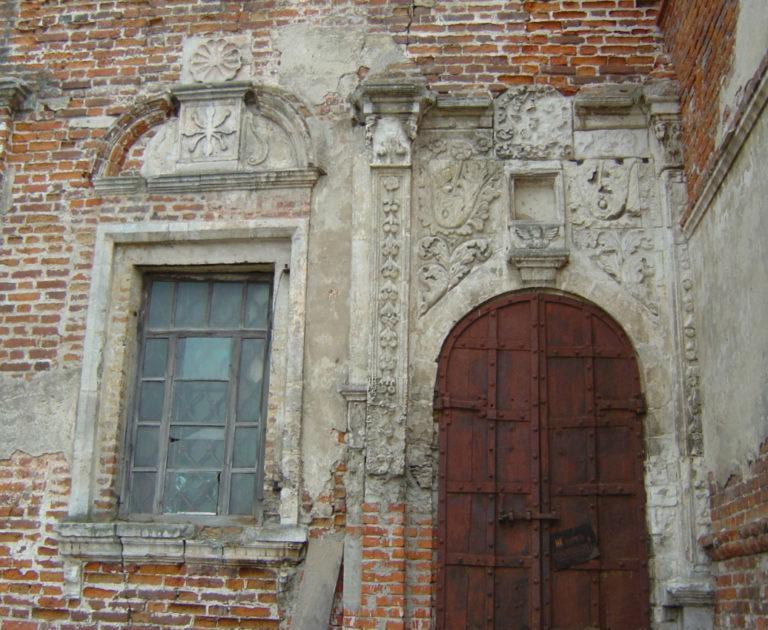 Элементы наружного декора Никольской церкви. 1740