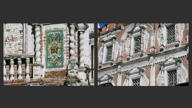Элементы наружного декора собора Введенского монастыря