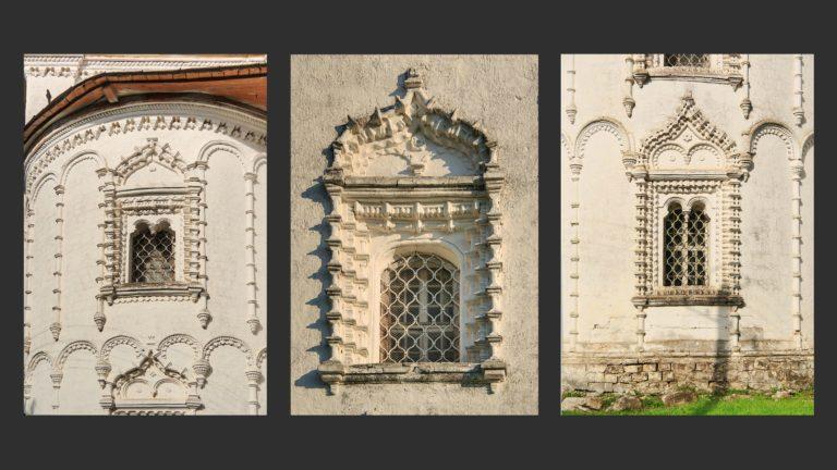 Элементы наружного декора церкви Благовещения, Каргополь