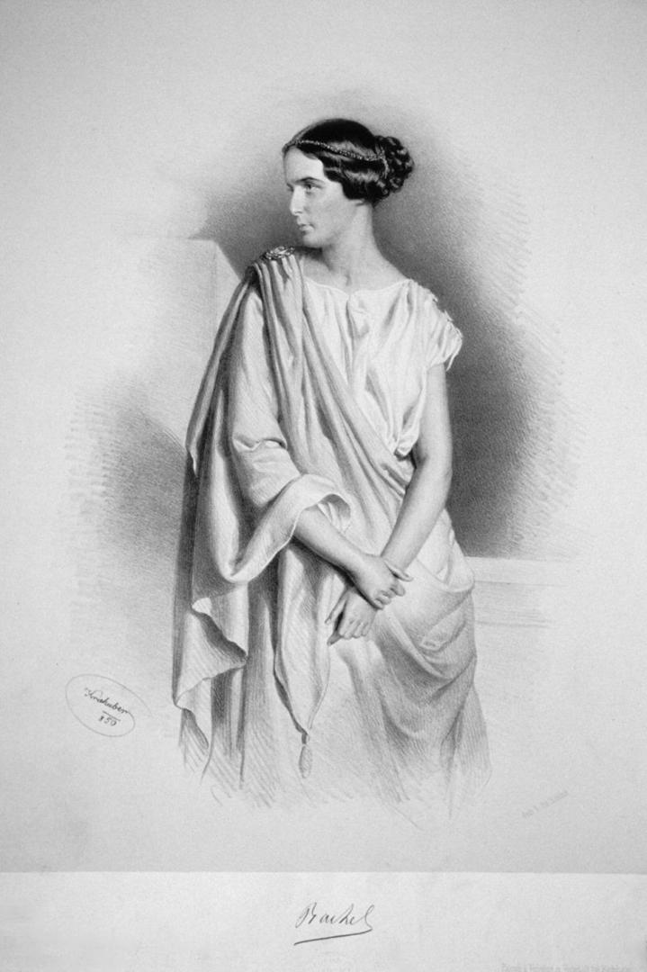 Элиза Рашель Феликс (фр. Elisa Rachel Felix; 1821—1858). 1850