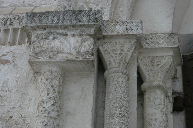 Фрагмент фасада южного притвора Богородице-Рождественского собора