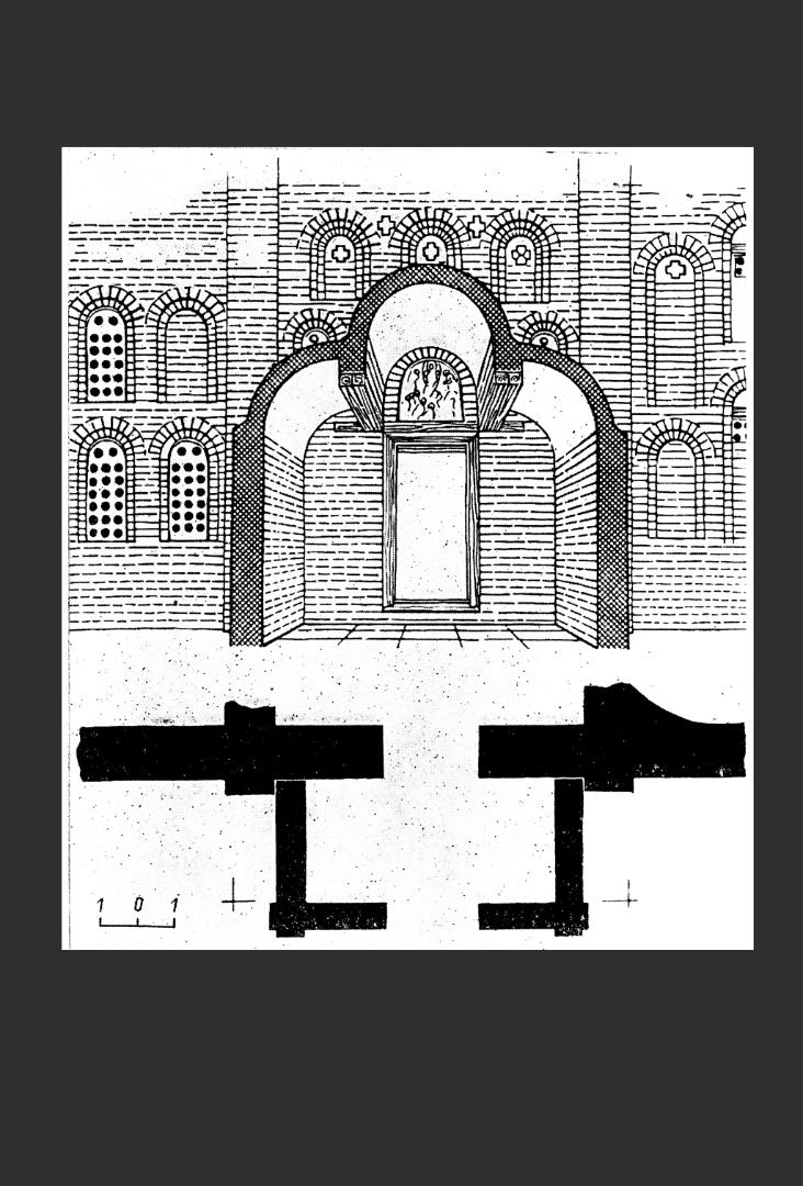 Храм Спаса на Берестове. Западный притвор