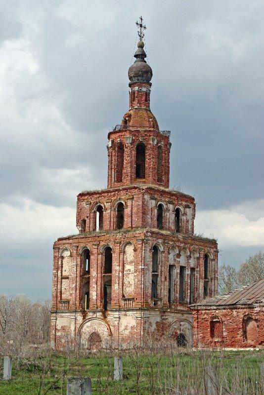 Храм-колокольня Исаакия Далматского. 1732