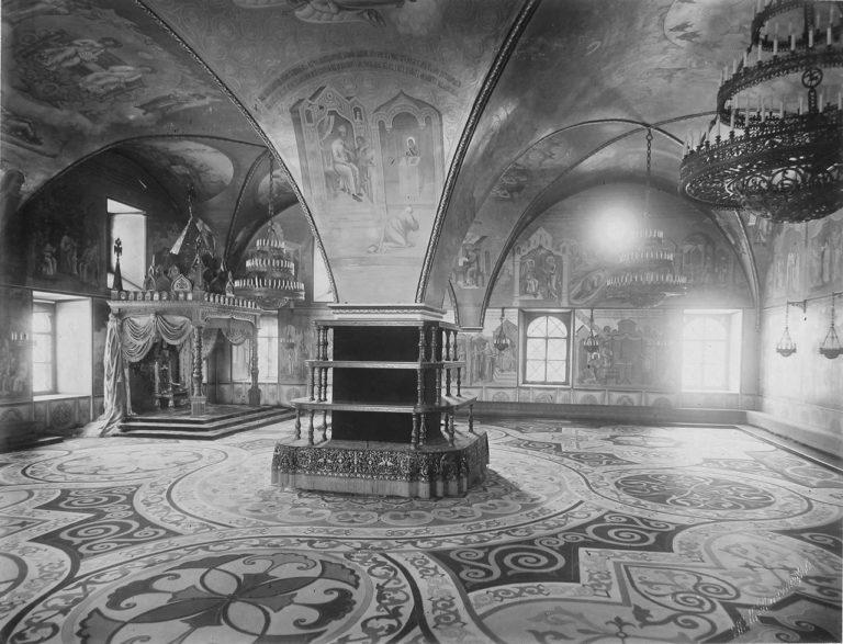 Интерьер Грановитой палаты, Московский Кремль