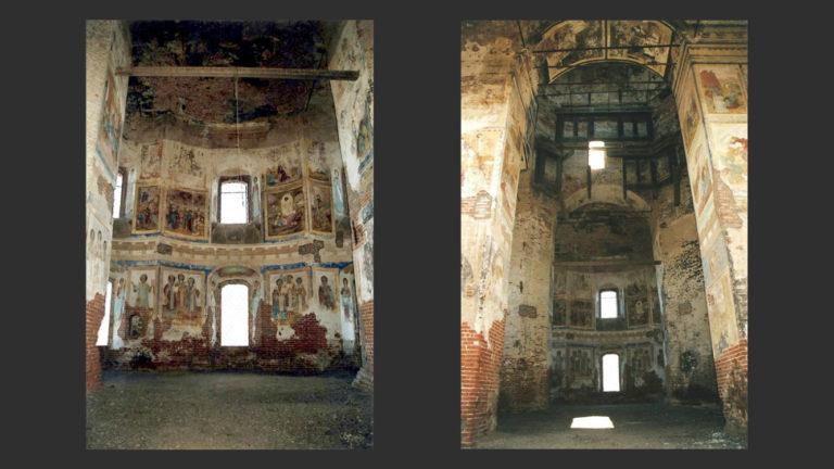 Интерьер Казанской церкви