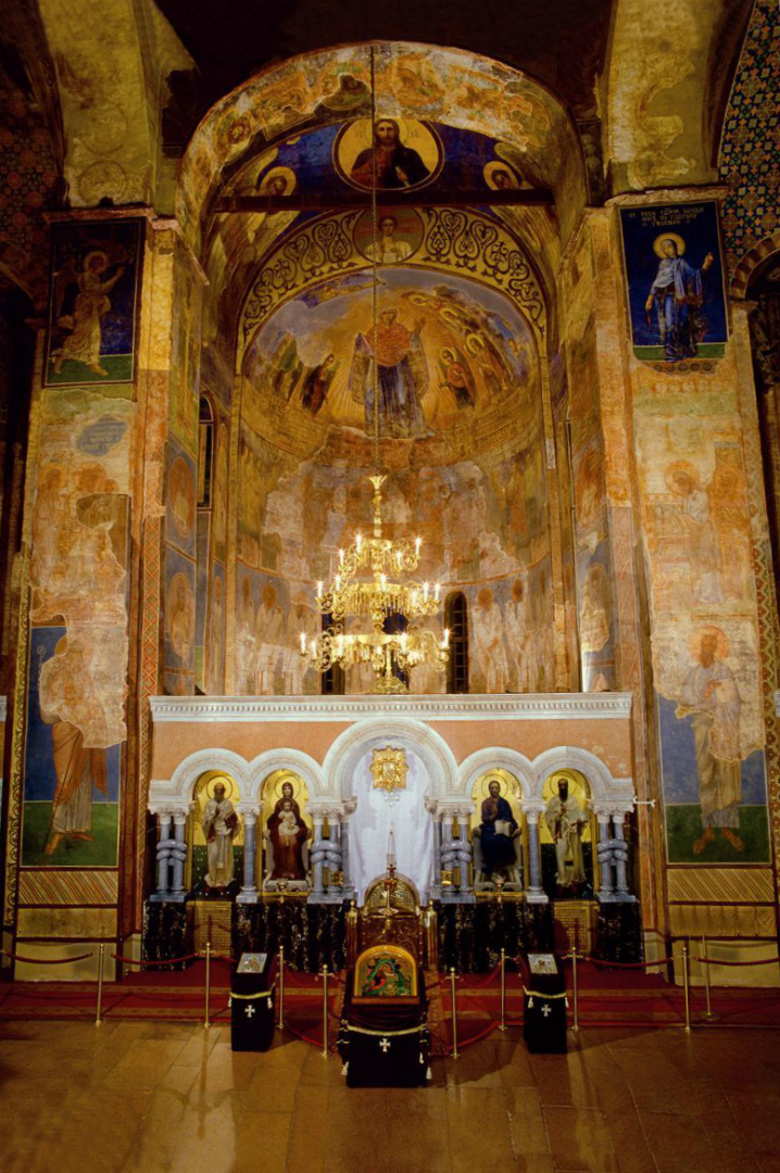 Интерьер Кирилловской церкви