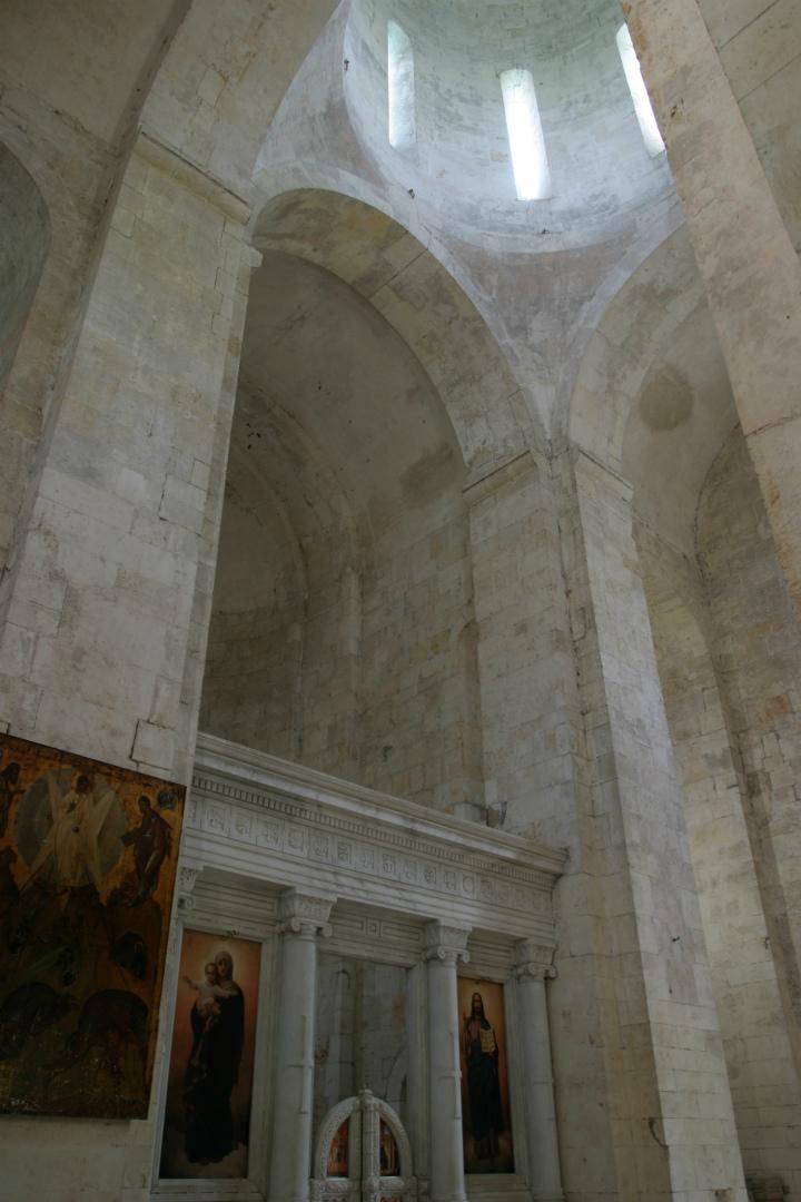 Интерьер Спасо-Преображенского собора в Переславле-Залесском