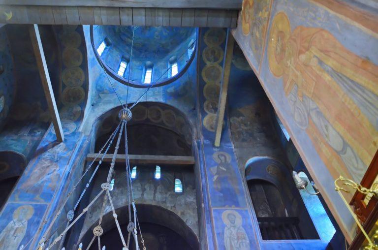 Интерьер Васильевской церкви
