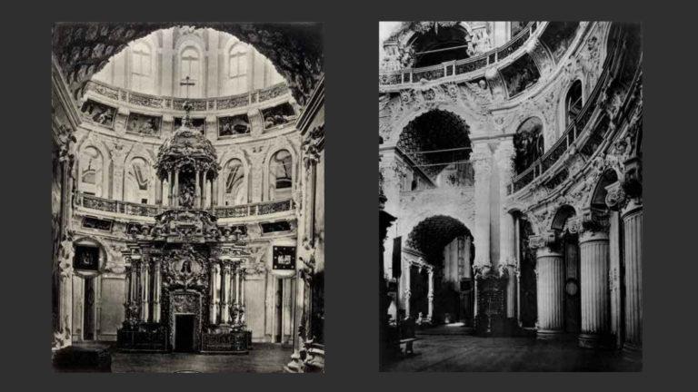 Интерьер Воскресенского собора Новоиерусалимского монастыря