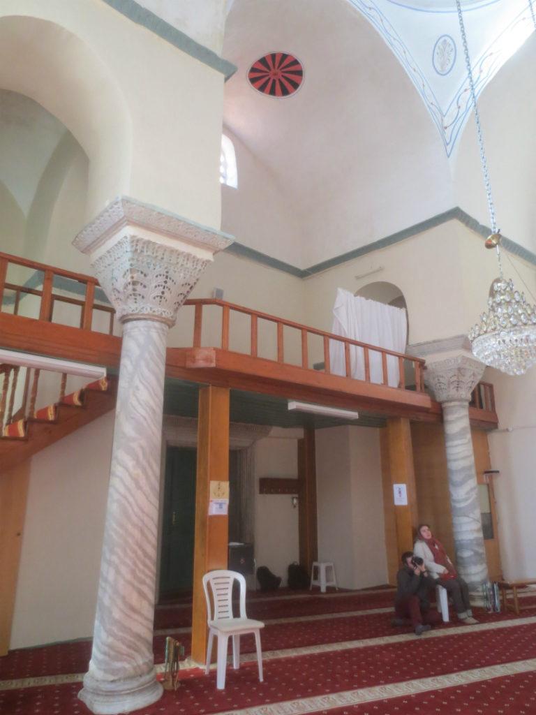 Интерьер храма Фатих Джами, Триглия