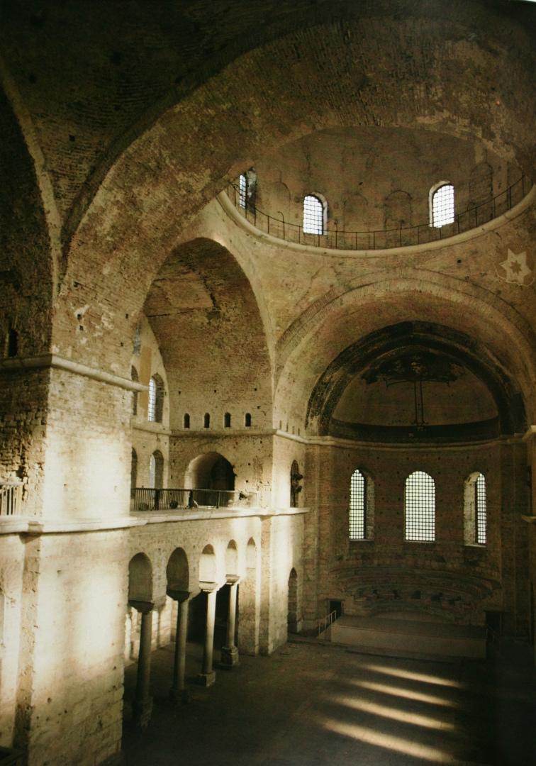 Интерьер храма св. Ирины. VI–VIII вв. Стамбул