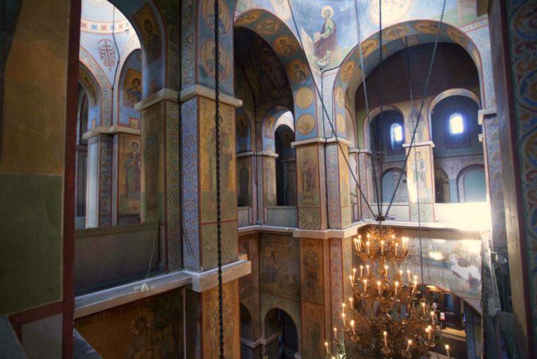 Интерьер собора Святой Софии, Новгород