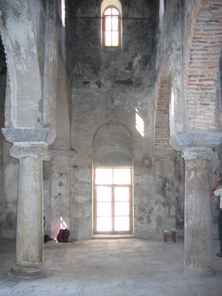 Интерьер церкви св. Анны. Конец IX в. Трабзон (Трапезунд), Турция