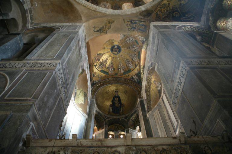 Интерьер церкви св. Луки. I пол. XI в.