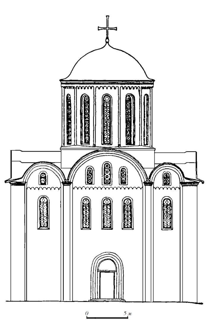 Кирилловская церковь в Киеве. Реконструкция