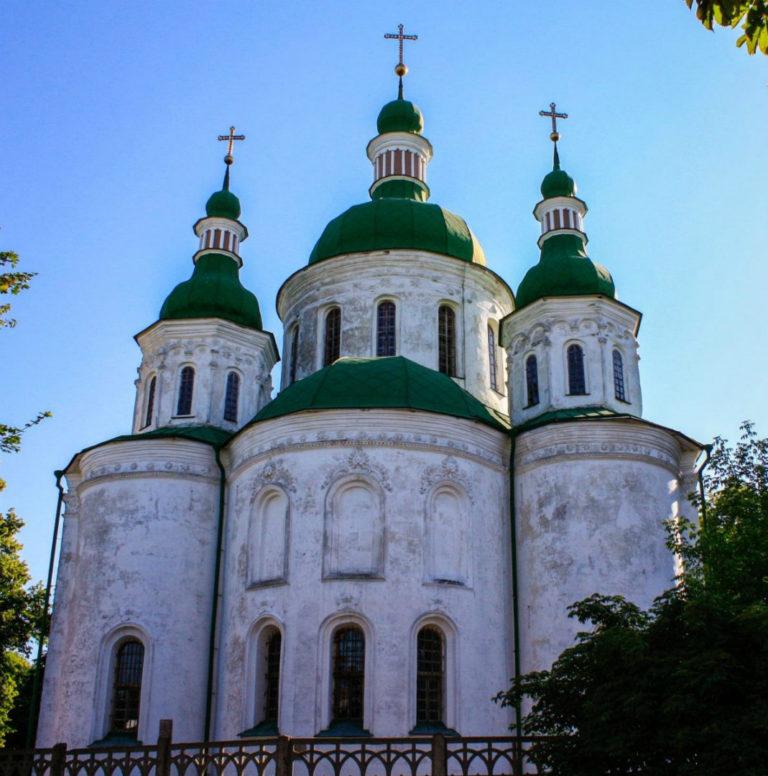 Кирилловская церковь. 1140-е. Перестроена в XVII–XVIII вв.