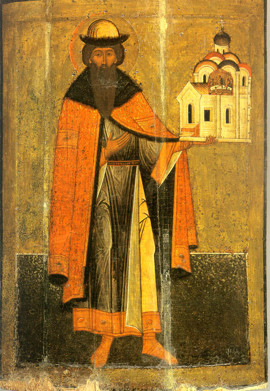 Князь Всеволод Мстиславич. Кон. XVI в.