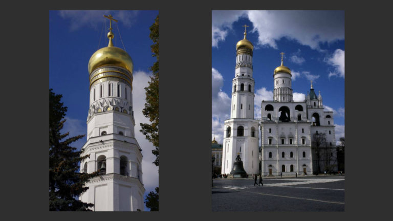 Колокольня Иван Великий. 1505–1508. Надстройка 1600