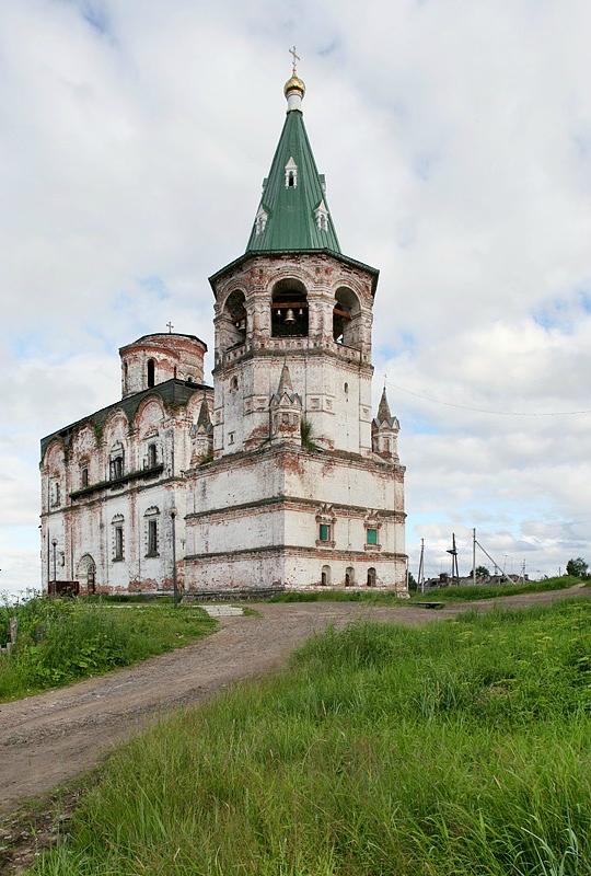 Колокольня Спасо-Преображенского собора. 1683–1685