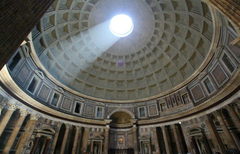 Купол Пантеона. II в. Рим