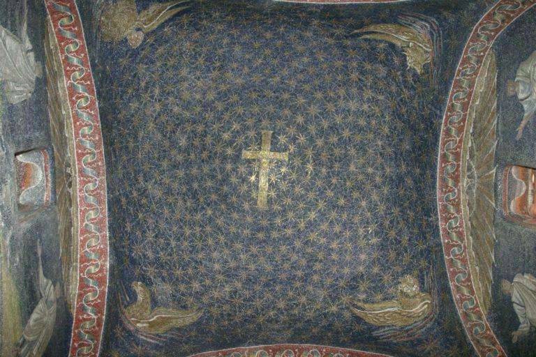 Купол мавзолея Галлы Плацидии. I пол. V в. Равенна