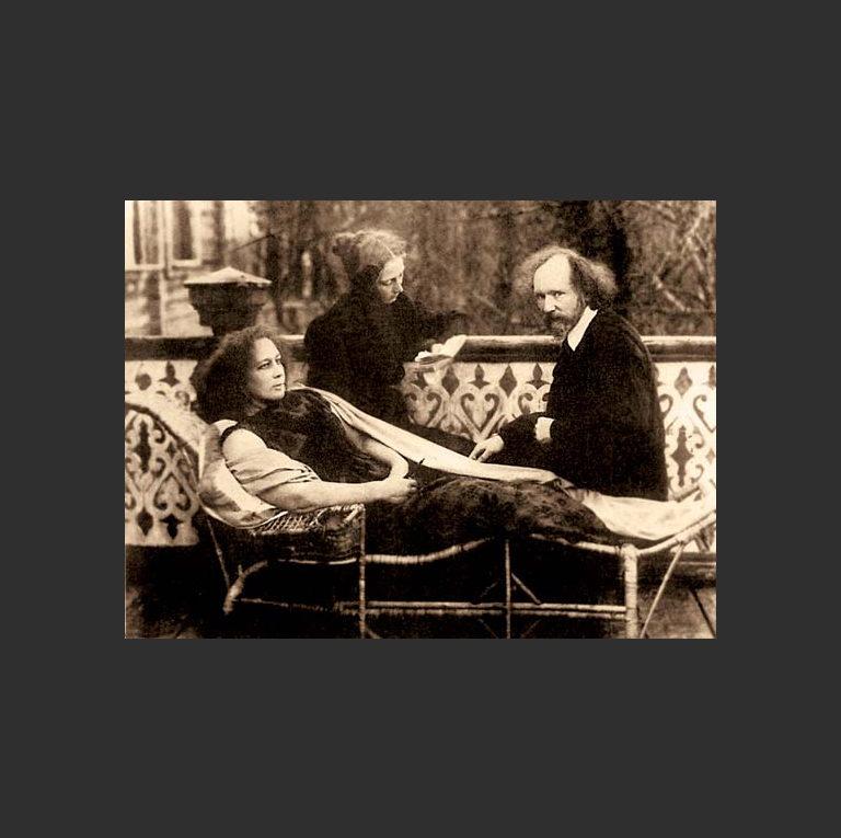 Лидия Зиновьева-Аннибал, Вячеслав Иванов, Вера Шварсалон (дочь Зиньвьевой-Аннибал от первого брака)
