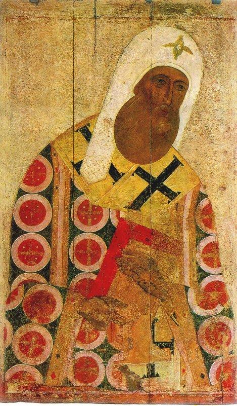 Митрополит Пётр. XV в.