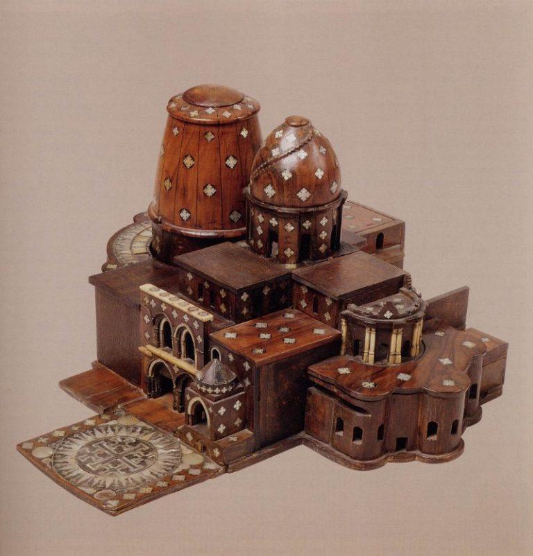 Модель храма Гроба Господня. I пол. XVII в.