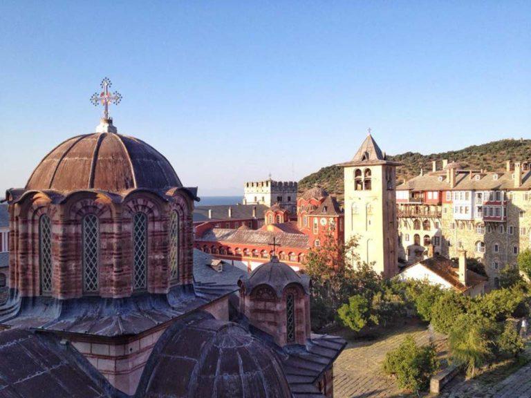 Монастырь Ватопед, гора Афон