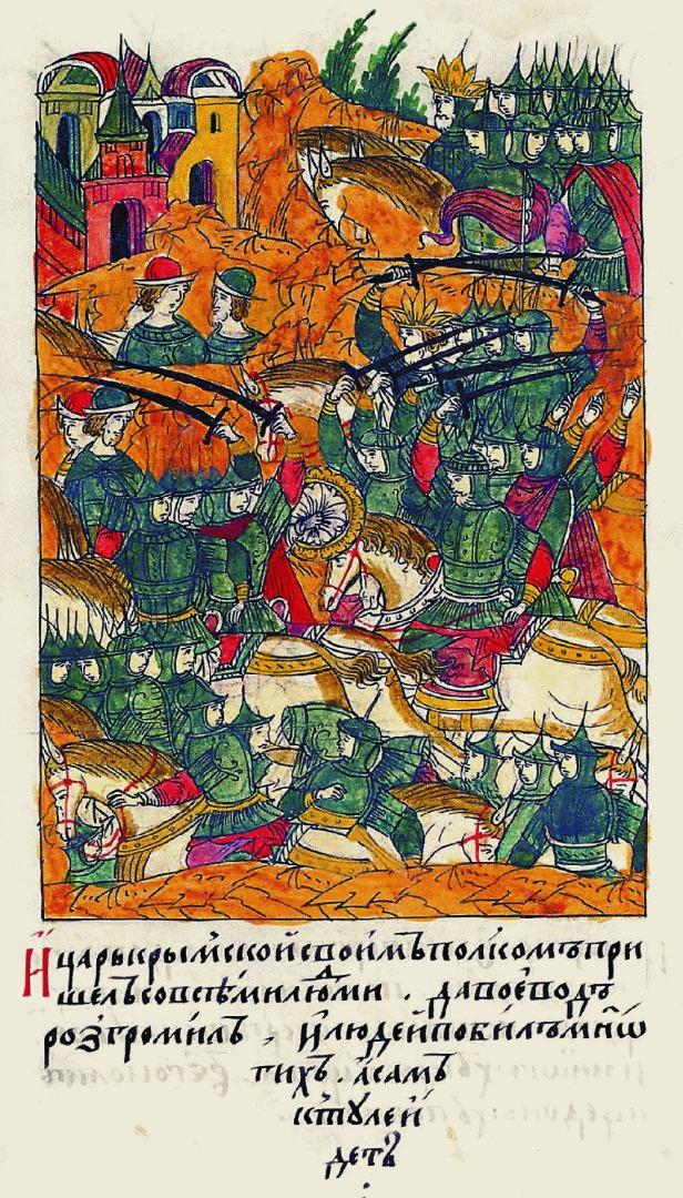 Набег крымского хана Девлет Гирея на Москву. 1568–1576