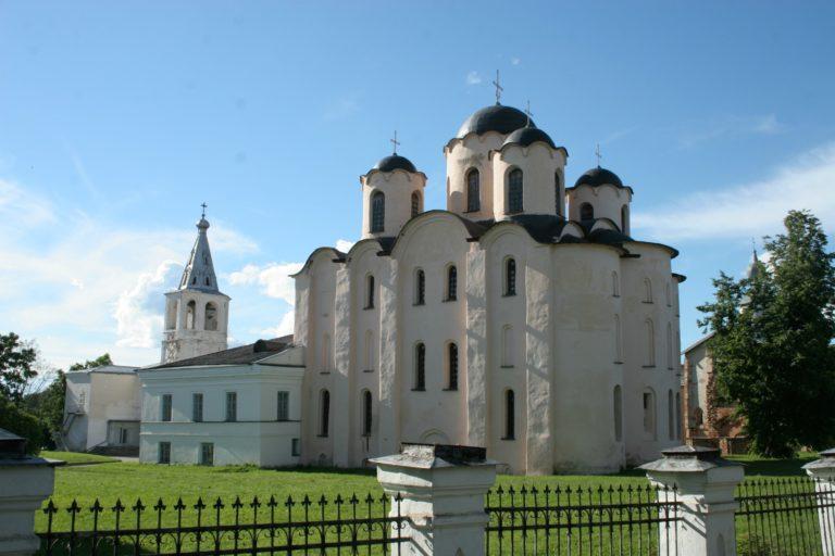Николо-Дворищенский собор. Новгород, 1113–1136