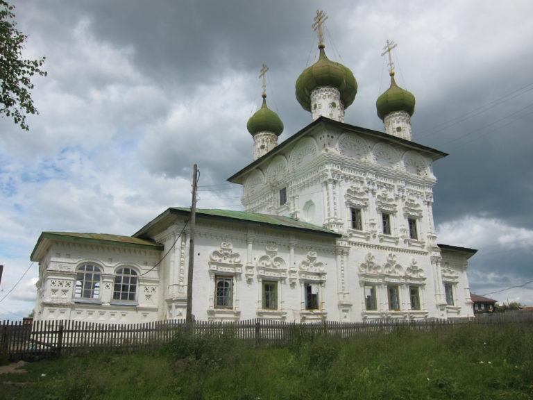 Никольская церковь. 1704–1705