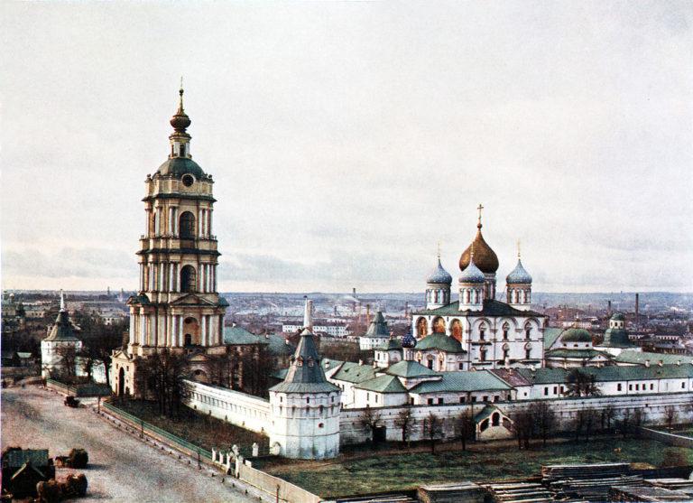 Новоспасский монастырь, Москва. XVII–XVIII вв.