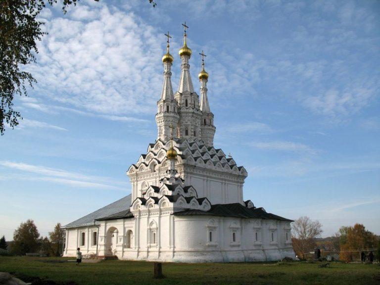 Одигитриевская церковь, вид с юго-востока. Сер. 1650-х