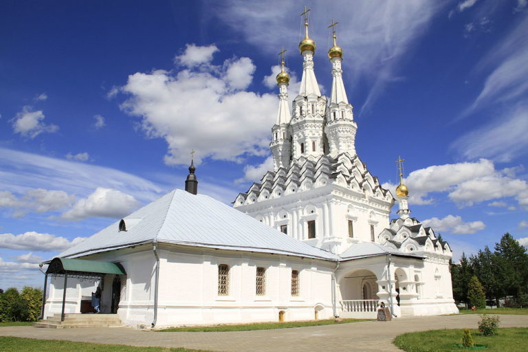 Одигитриевская церковь. Сер. 1650-х