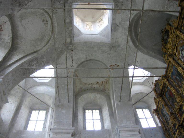 Перекрытия собора Введенского монастыря